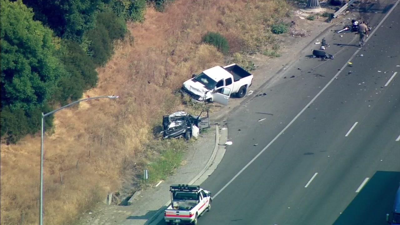 CHP officer killed in I-80 crash in Fairfield identified by