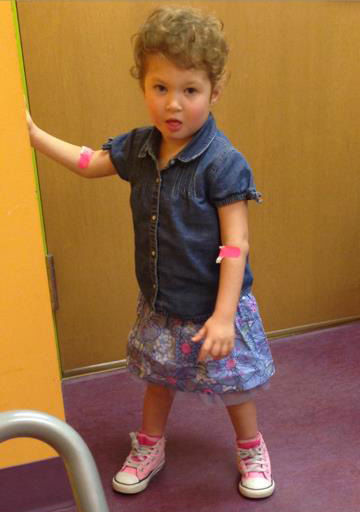 PHOTOS: Mom finds liver donor for daughter on Facebook ...
