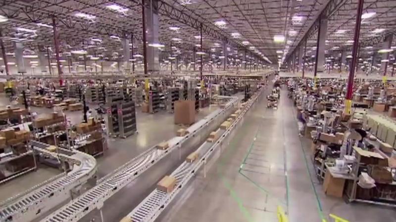 Garner announces new Amazon distribution center