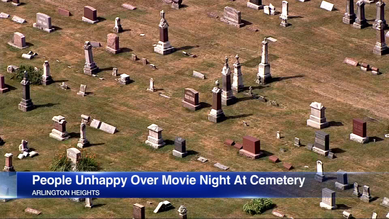 Mother \'beyond disgusted\' by free movie night at cemetery where son ...
