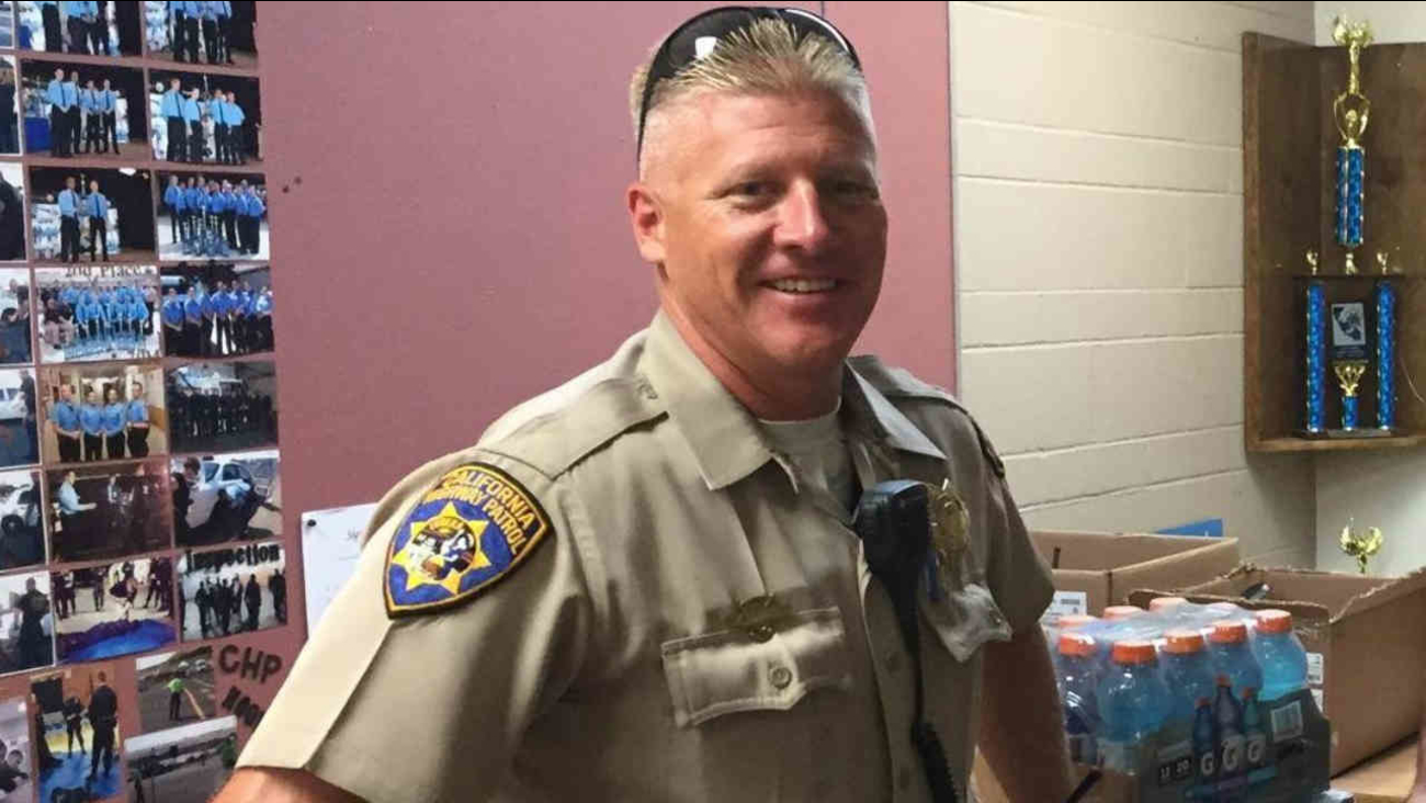 CHP Officer Kirk Griess is seen in this undated image.
