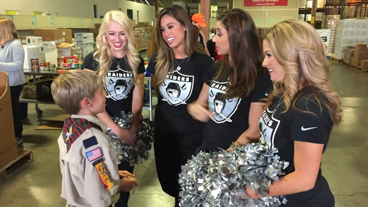 "<div class=""meta image-caption""><div class=""origin-logo origin-image ""><span></span></div><span class=""caption-text"">10-year-old boy scout Luke Fewx speaks to the Oakland Raiderettes.</span></div>"