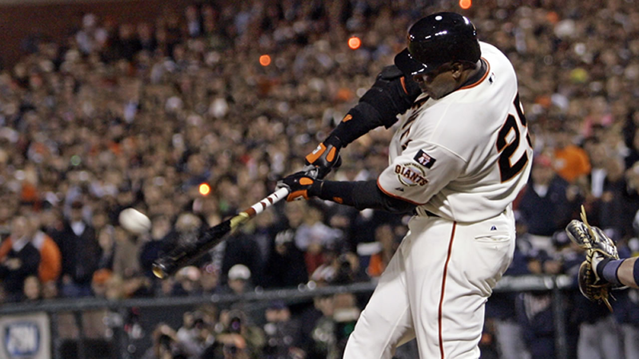 San Francisco Giants retire Barry Bonds' No. 25 in ceremony at ...