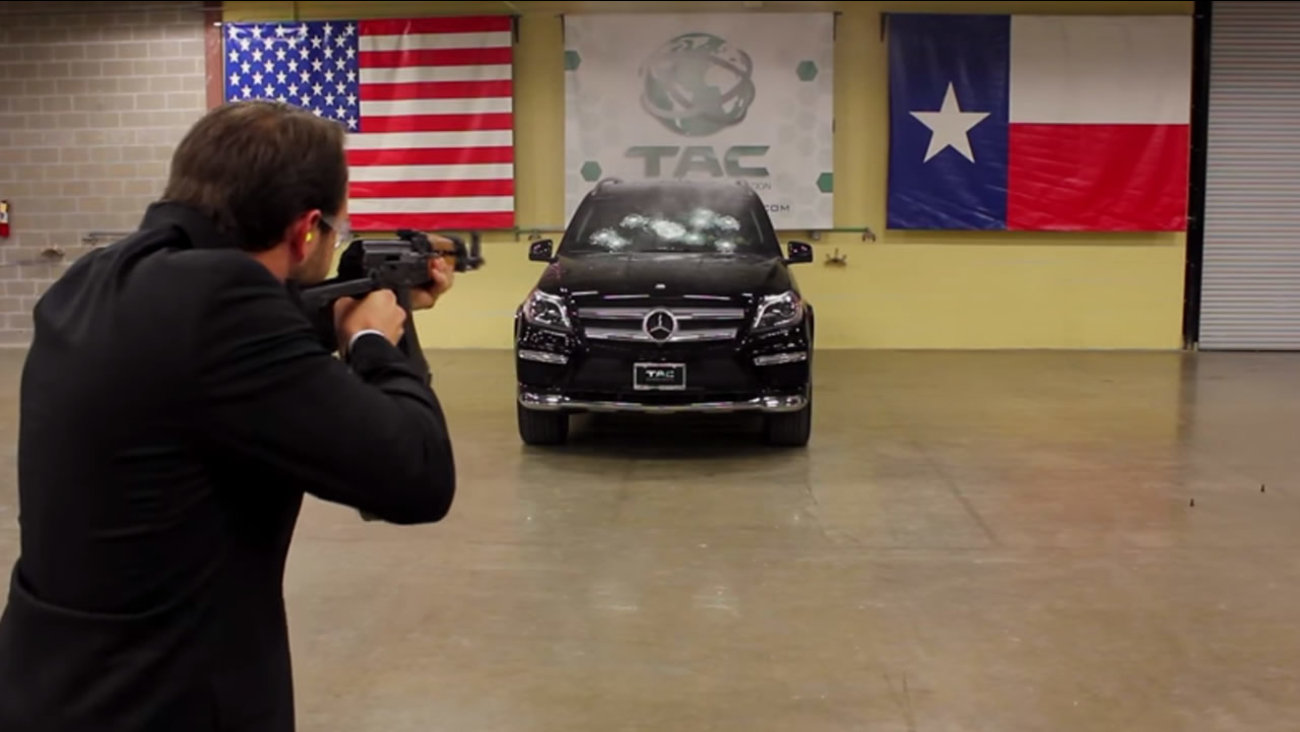 Ceo Of Bulletproof Car Company Sits In Suv Being Shot Up