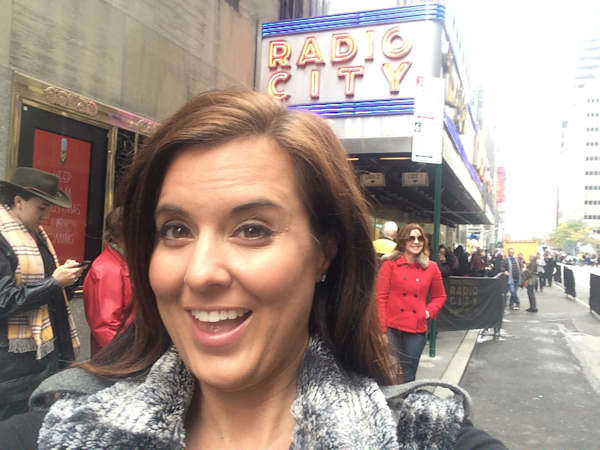 "<div class=""meta image-caption""><div class=""origin-logo origin-image ""><span></span></div><span class=""caption-text"">Amy Freeze visits with the Rockettes!</span></div>"