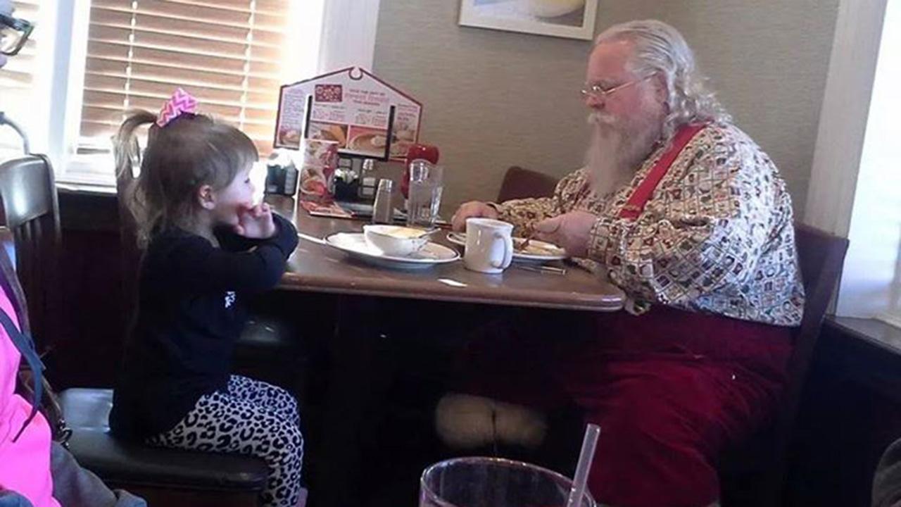 Gracie Lynn Wilson and Santa
