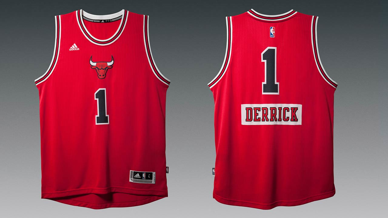 brand new 1c3db a177e Bulls' Christmas Day uniforms to feature players' first ...