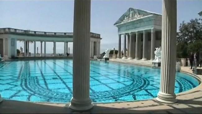Pool - Hearst castle neptune pool swim auction ...