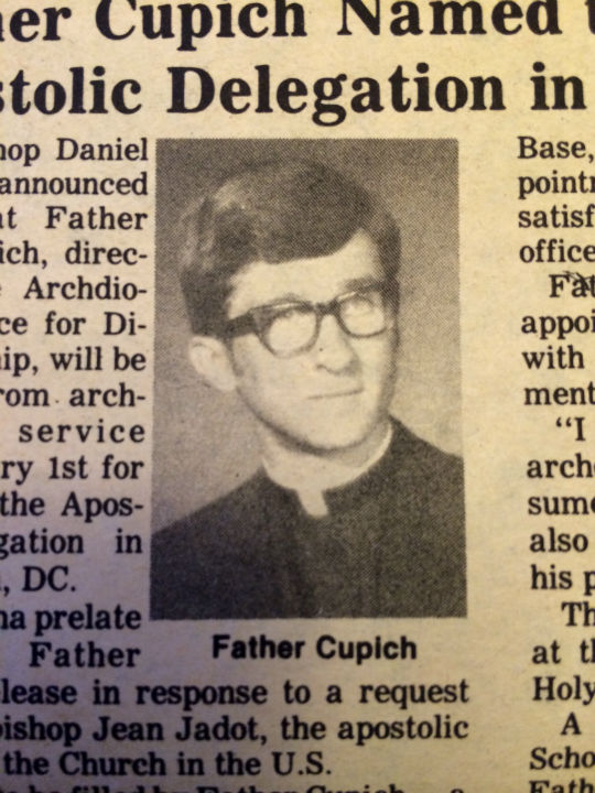"<div class=""meta image-caption""><div class=""origin-logo origin-image ""><span></span></div><span class=""caption-text"">Cupich was ordained at his home parish. (WLS Photo)</span></div>"