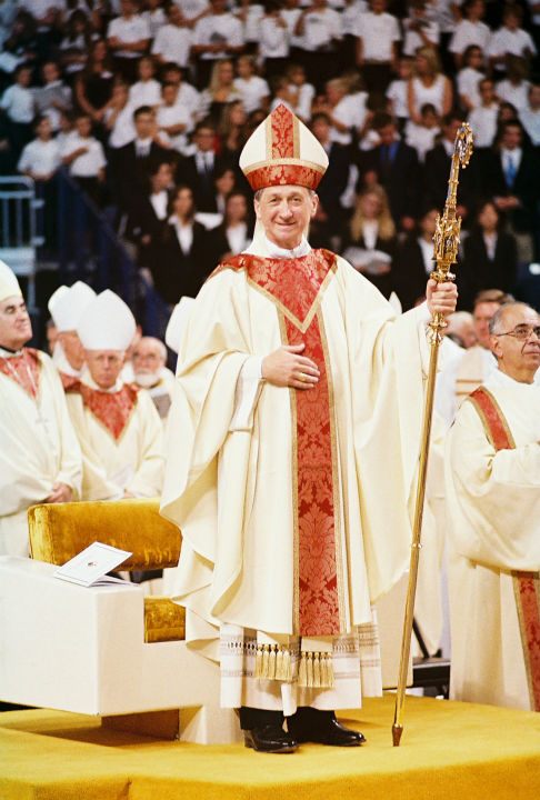 "<div class=""meta image-caption""><div class=""origin-logo origin-image ""><span></span></div><span class=""caption-text"">Bishop Blase Cupich stands at the end of the installation Mass, during which he was installed as bishop of Spokane, Wash., Sept. 3, 2010 (WLS Photo)</span></div>"