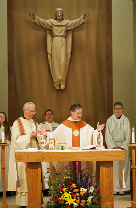 "<div class=""meta image-caption""><div class=""origin-logo origin-image ""><span></span></div><span class=""caption-text"">Bishop Blase Cupich celebrates Mass during the dedication of the new church for St. Mary's Presentation Parish in Deer Park, Wash., Feb. 7, 2011 (WLS Photo)</span></div>"