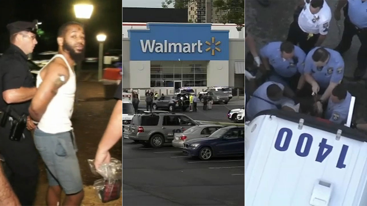Suspect in Walmart shooting that injured 5 in Cheltenham, Pennsylvania: 'I'm sorry' | abc7chicago.com