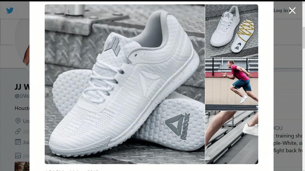 JJ Watt releases new shoes in honor of
