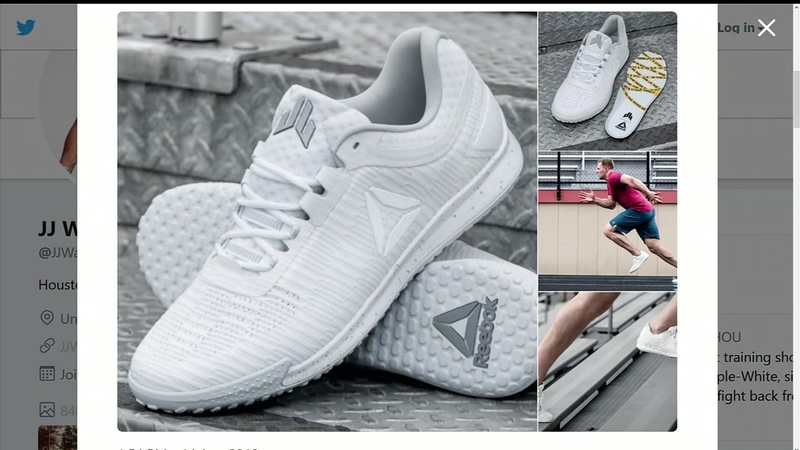 100% authenticated high fashion new arrival JJ Watt's new shoes to represent his fight back from his injuries