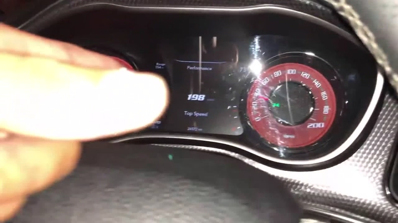 Video shows car going 198 mph