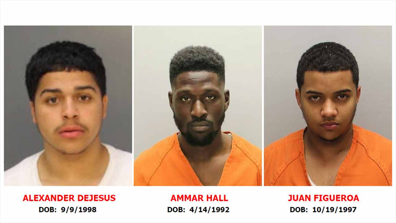 Warrants issued for Camden police shooting suspects