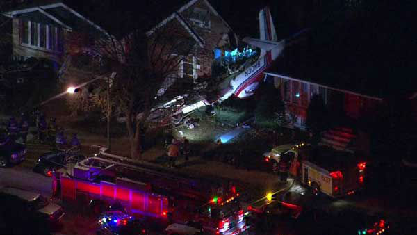 "<div class=""meta image-caption""><div class=""origin-logo origin-image ""><span></span></div><span class=""caption-text"">A small plane crashed into a home on Chicago's Southwest Side near Midway Airport. (WLS Photo)</span></div>"