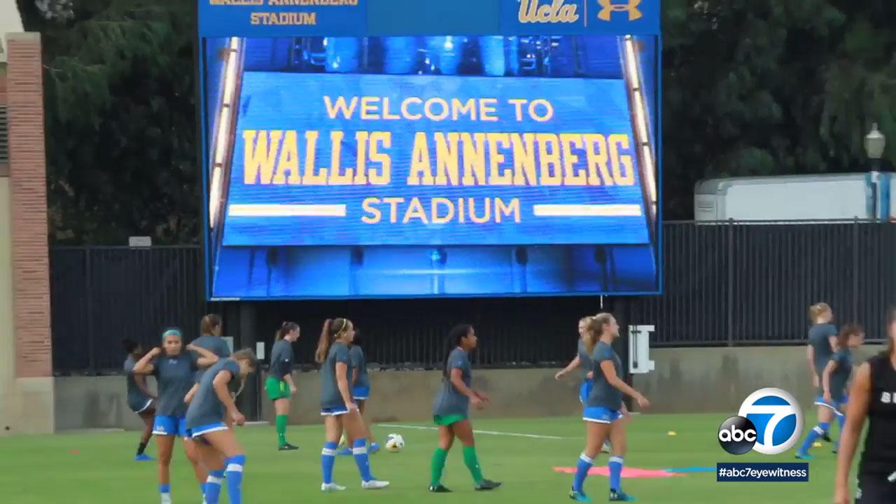 UCLA has a new stadium for men's and women's soccer after a $5 million donation from the Annenberg Foundation.