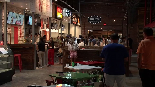 Finally Morgan Street Food Hall Opens In Raleigh Abc11 Com