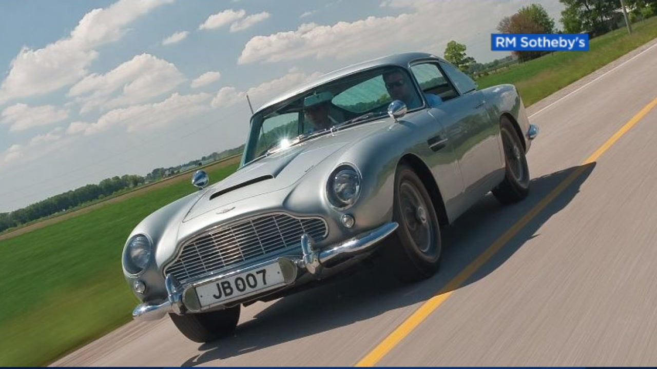 aston martin to produce 'james bond' db5 replica cars | abc7news