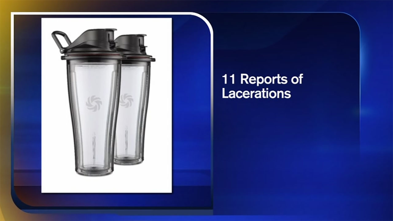 Vitamix is recalling two of its blending containers because the base can detach and expose the blades.