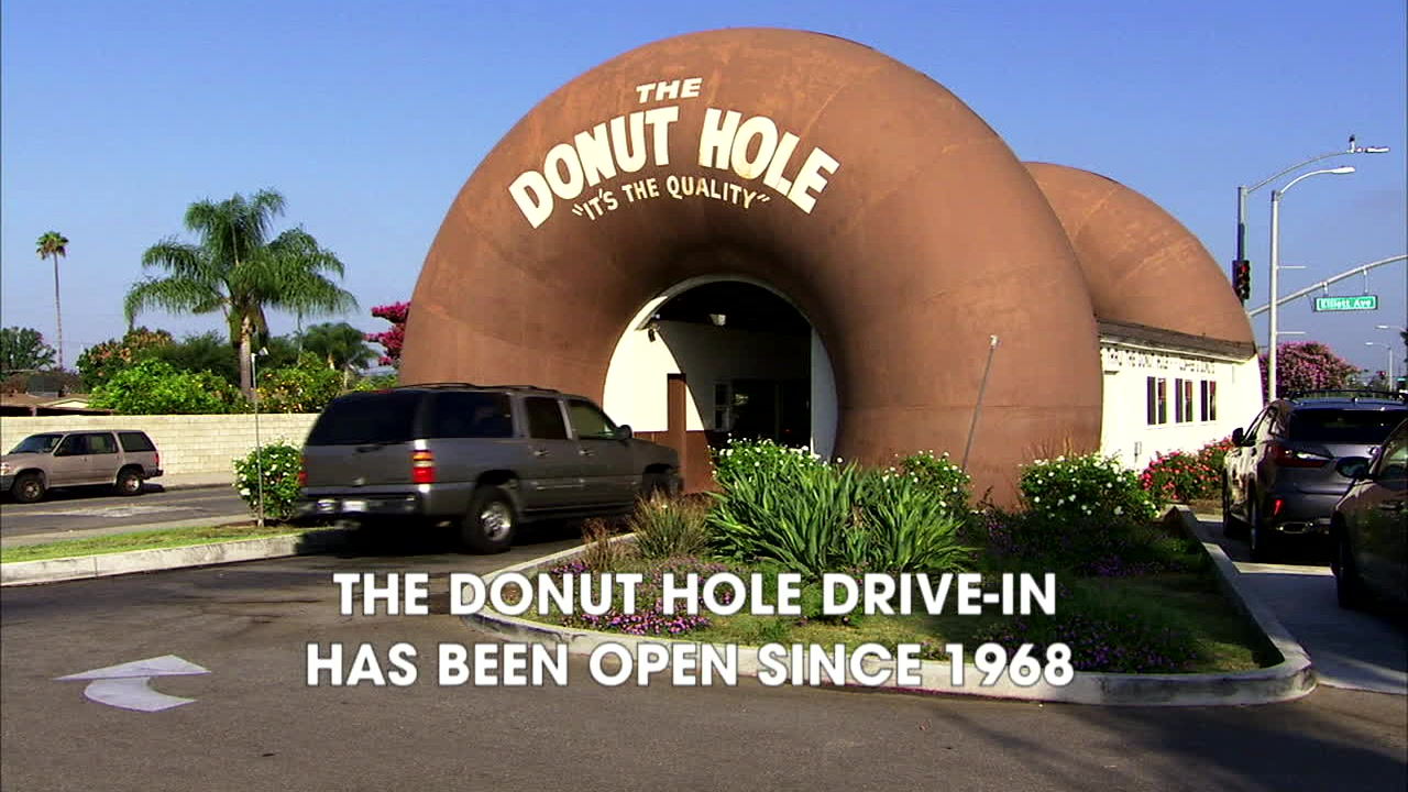 La Puente: Home to one of the last working drive-in theaters and a drive-in  donut hole! - ABC7 Los Angeles