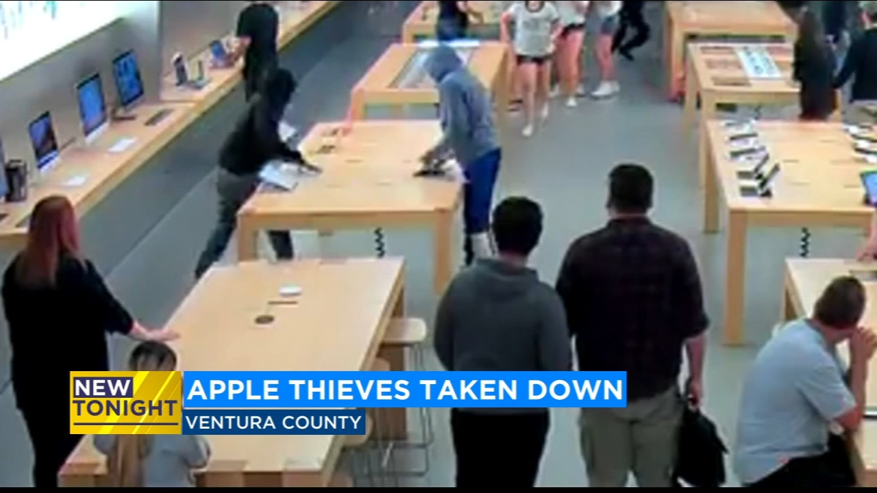 Apple Store Thieves Arrested After Good Samaritans In Ventura County
