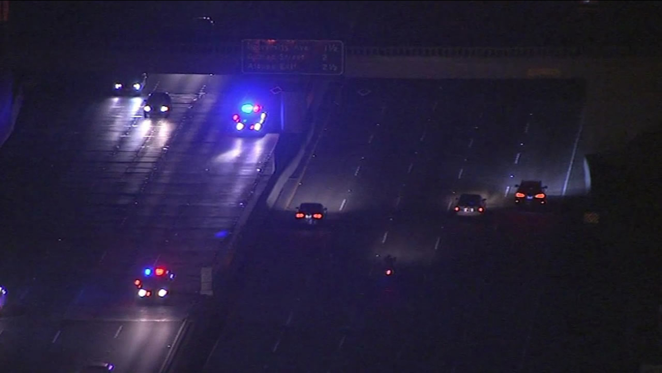 High-speed chase on eastbound I-80 near Oakland ends in arrest