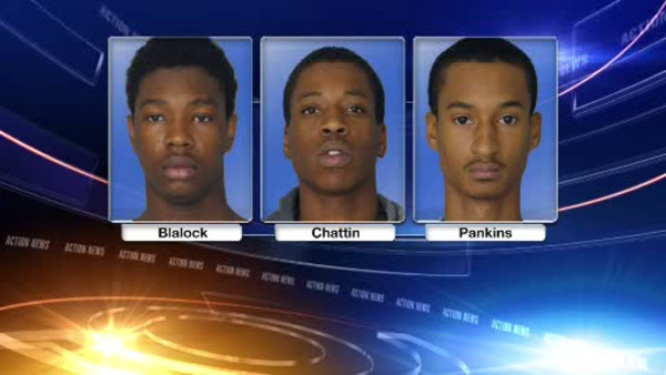 Police have arrested three robbery suspects.