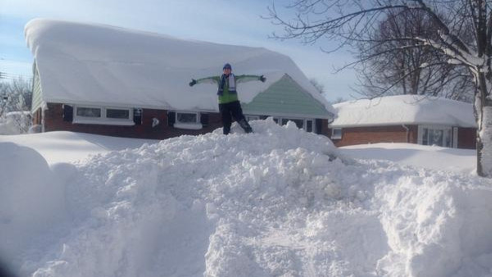 incredible snow photos and videos in buffalo and upstate