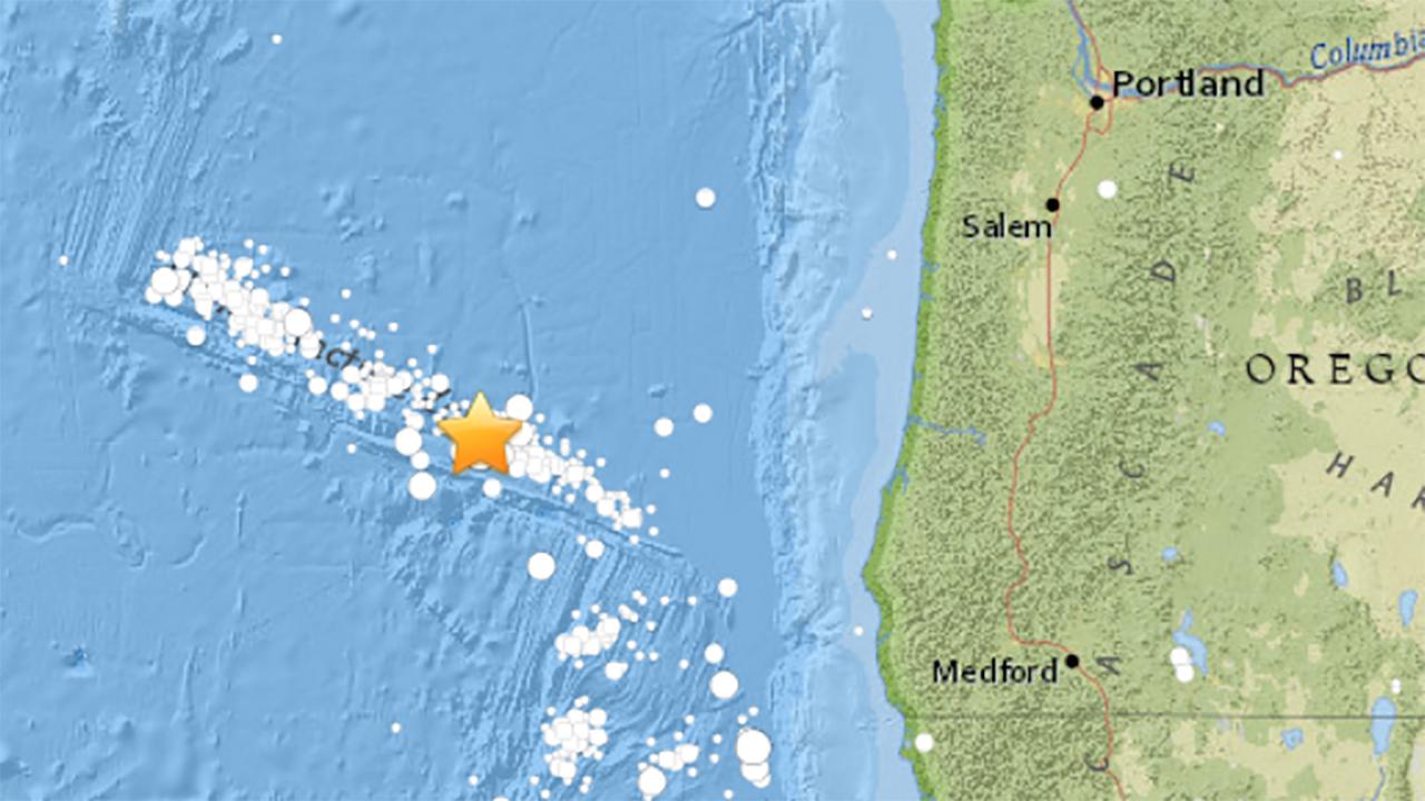 6 2 Magnitude Earthquake Reported Off The Oregon Coast Abc7news Com