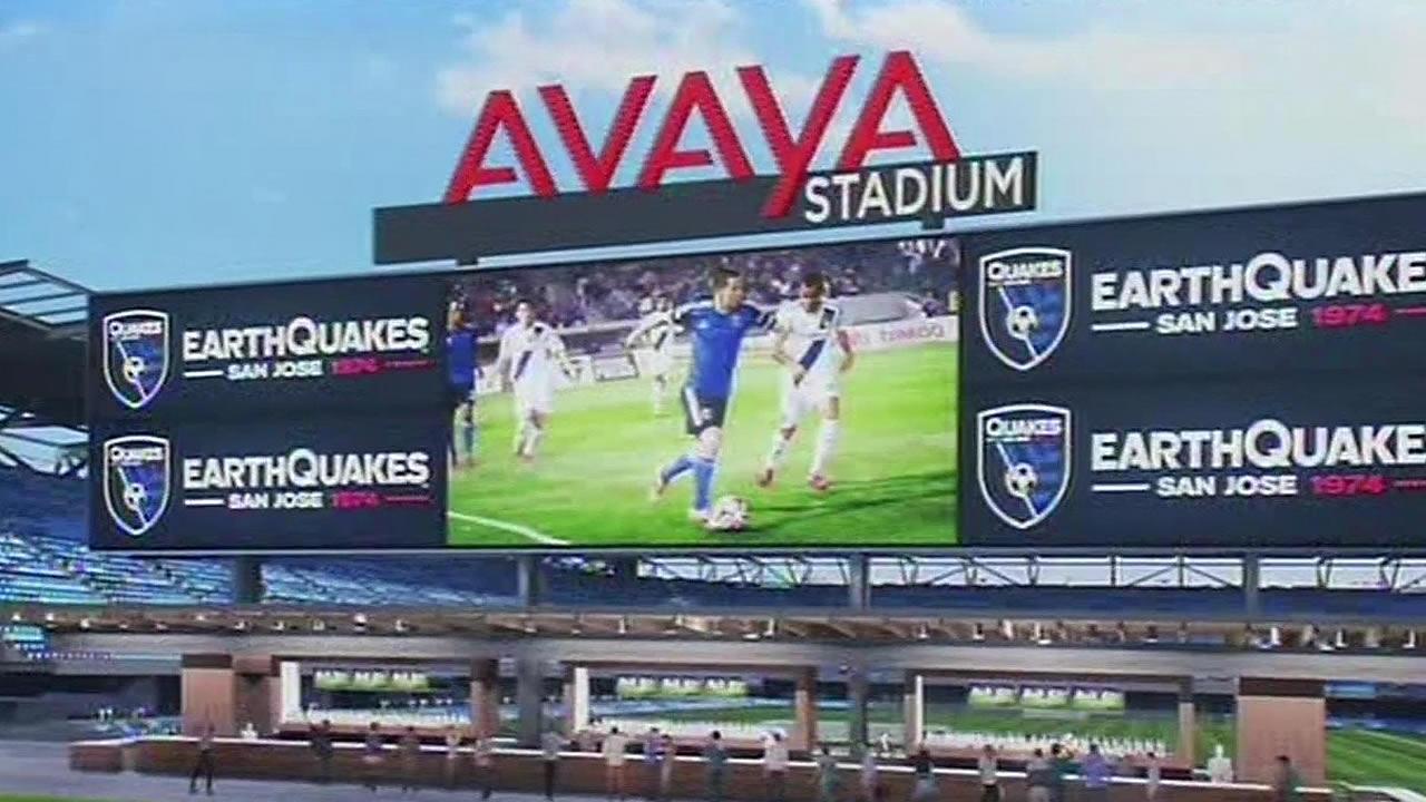 New San Jose Earthquakes Stadium Officially Named Avaya Stadium Abc7 San Francisco