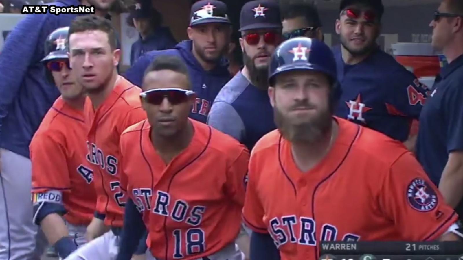 Astros pull off Bregman stare