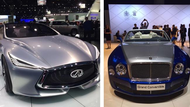 Hottest Reveals At The LA Auto Show Abccom - Moscone car show