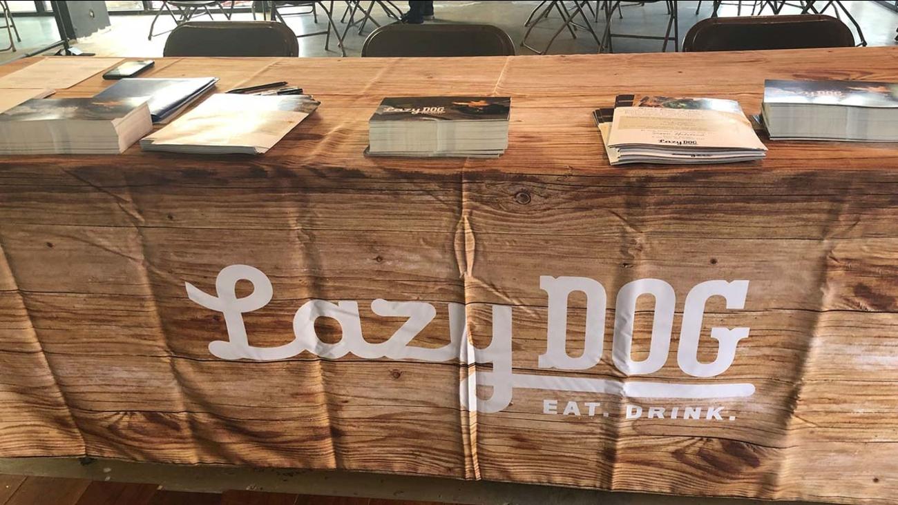 Lazy Dog Restaurant Hiring Fair Date Misprinted Abc30 Com