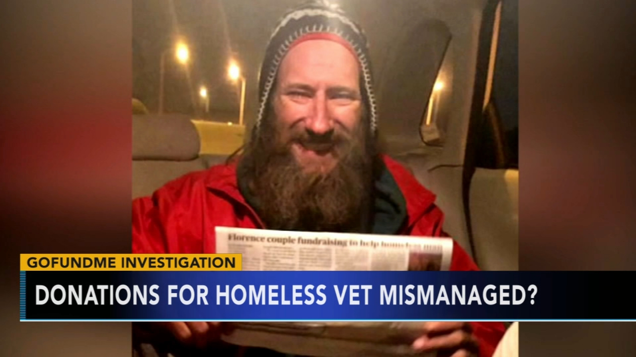 Homeless vet who helped NJ woman says money being withheld