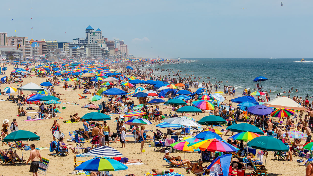 Sea Lice Outbreak In Ocean City Maryland Causes Discomfort For Swimmers 6abc