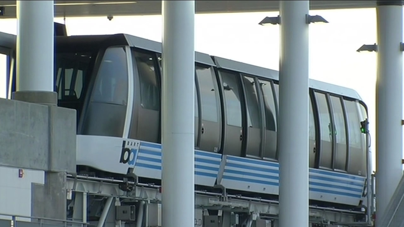 new BART train