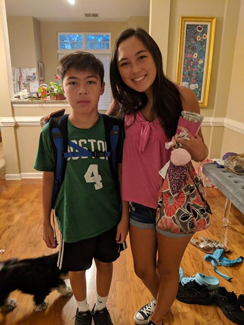 "<div class=""meta image-caption""><div class=""origin-logo origin-image none""><span>none</span></div><span class=""caption-text"">Elias Moon and Emma Johnson starting freshman and junior year at Leesville Road High School! (Chris Johnson)</span></div>"