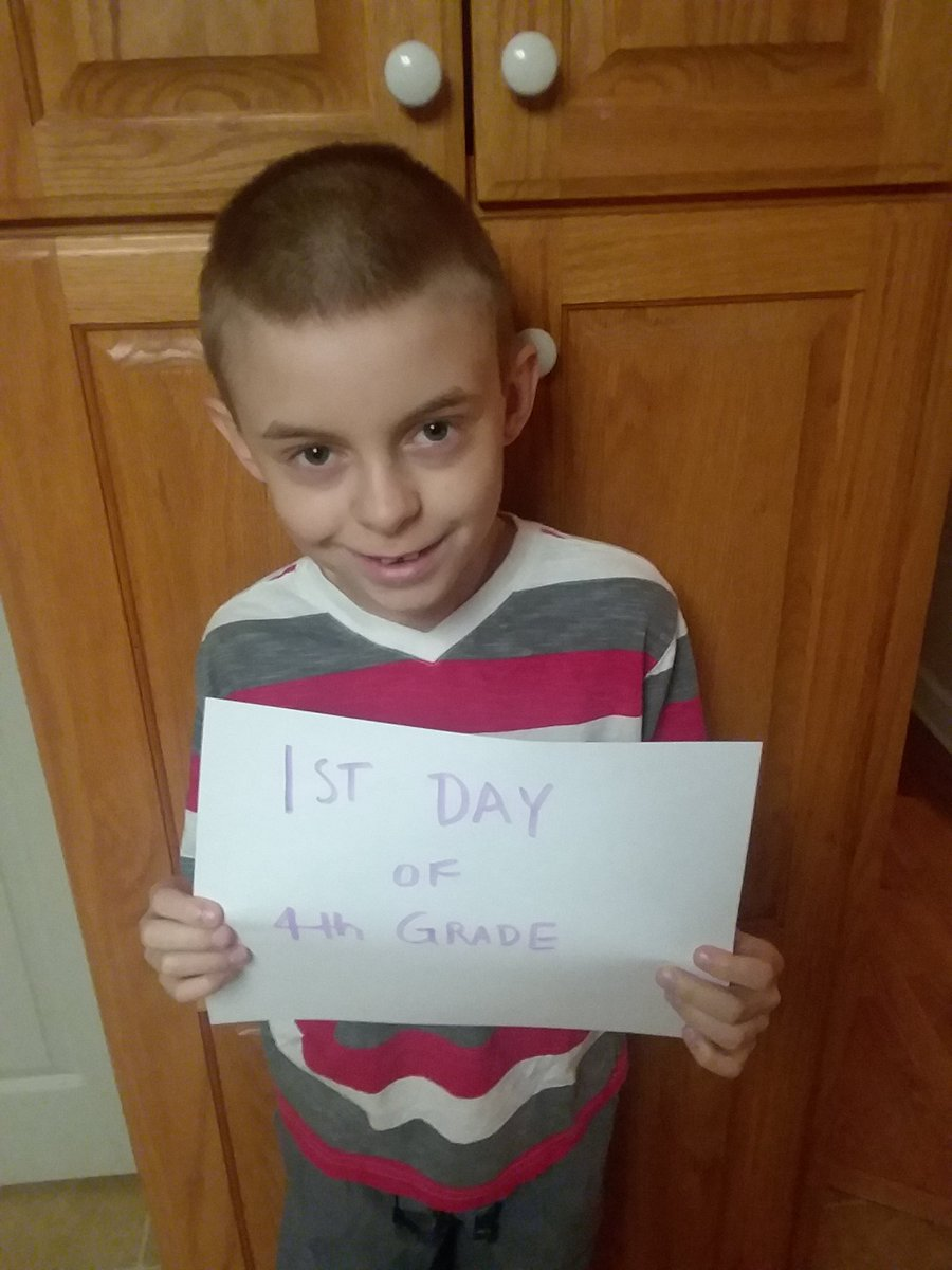 "<div class=""meta image-caption""><div class=""origin-logo origin-image none""><span>none</span></div><span class=""caption-text"">1st day of 4th grade! (@wolfpackjac)</span></div>"