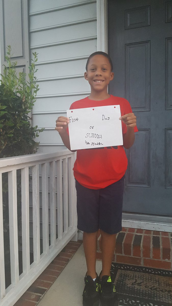 "<div class=""meta image-caption""><div class=""origin-logo origin-image none""><span>none</span></div><span class=""caption-text"">First day of school at Hunter Magnet Elementary (@RedandWhiteAP / Twitter)</span></div>"