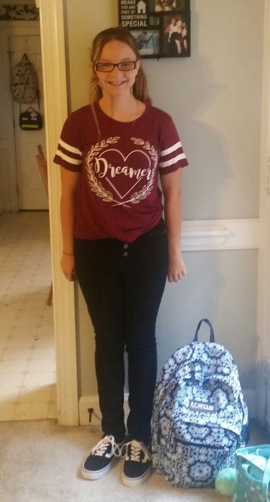 "<div class=""meta image-caption""><div class=""origin-logo origin-image none""><span>none</span></div><span class=""caption-text"">First day of middle school! (@ammons_shannon / Twitter)</span></div>"