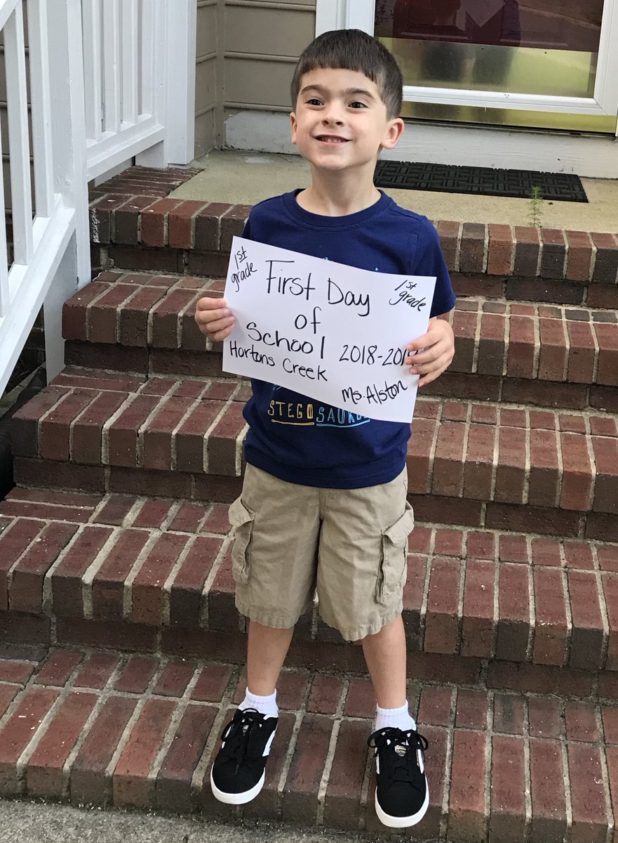 "<div class=""meta image-caption""><div class=""origin-logo origin-image none""><span>none</span></div><span class=""caption-text"">First day of 1st grade at Hortons Creek Elementary School! (@kimmykcollins / Twitter)</span></div>"