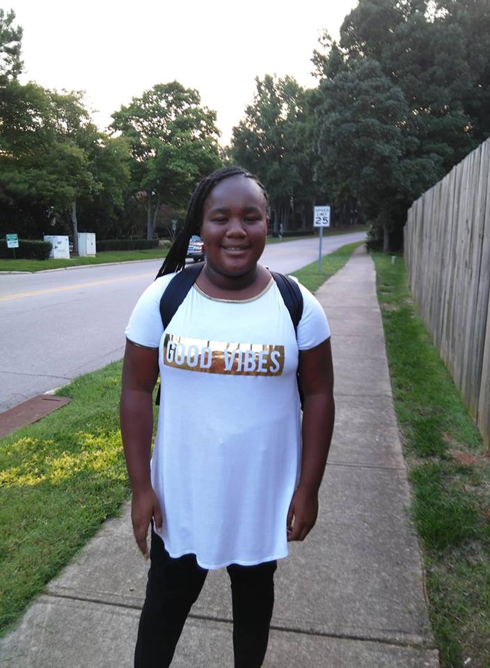 "<div class=""meta image-caption""><div class=""origin-logo origin-image none""><span>none</span></div><span class=""caption-text"">First day of middle school! (Tina Elliot Dunston)</span></div>"
