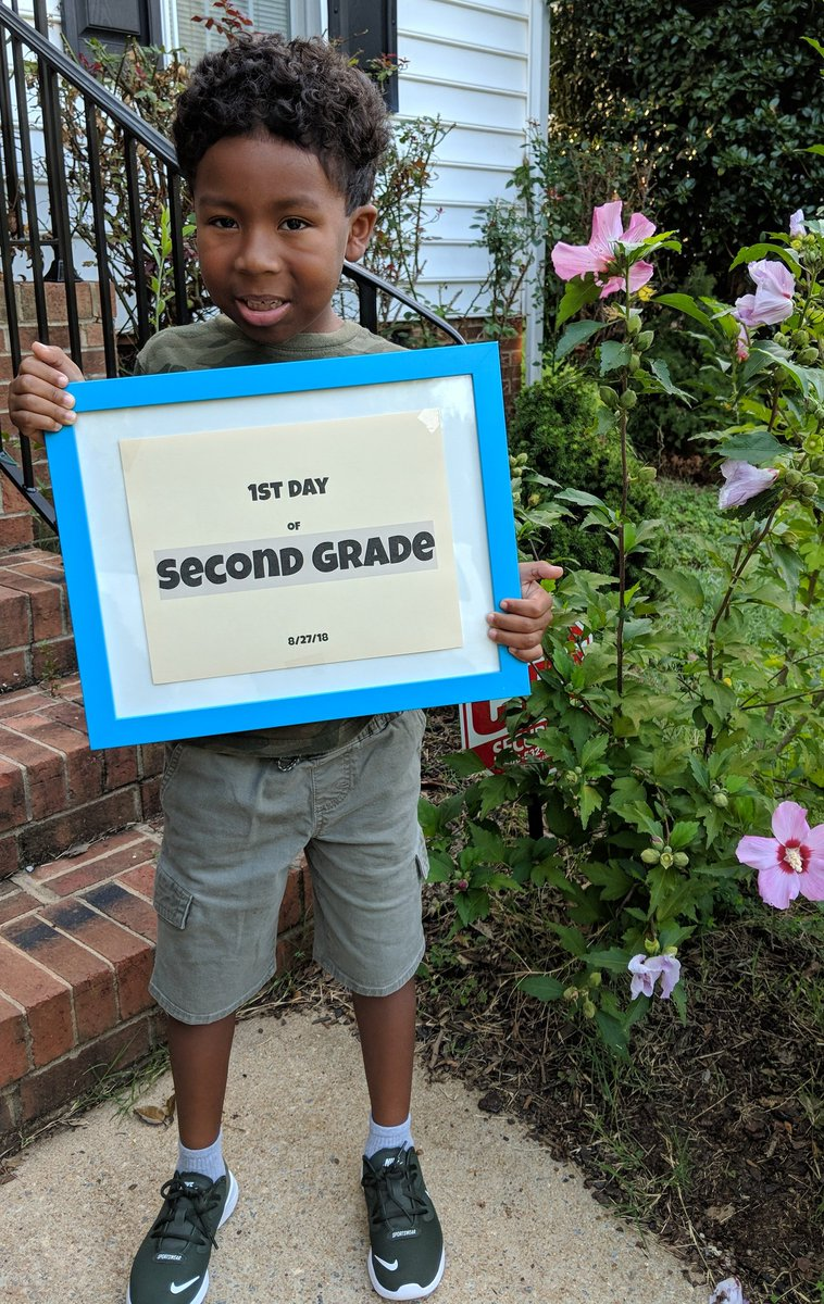 "<div class=""meta image-caption""><div class=""origin-logo origin-image none""><span>none</span></div><span class=""caption-text"">First day of 2nd grade! (@gctmcmillian / Twitter)</span></div>"