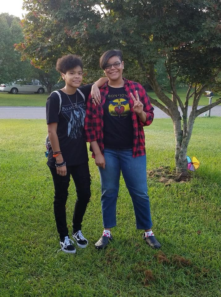 "<div class=""meta image-caption""><div class=""origin-logo origin-image none""><span>none</span></div><span class=""caption-text"">First day of 11th and 12th grade at Cape Fear High School in Fayetteville! (Michelle Moye)</span></div>"