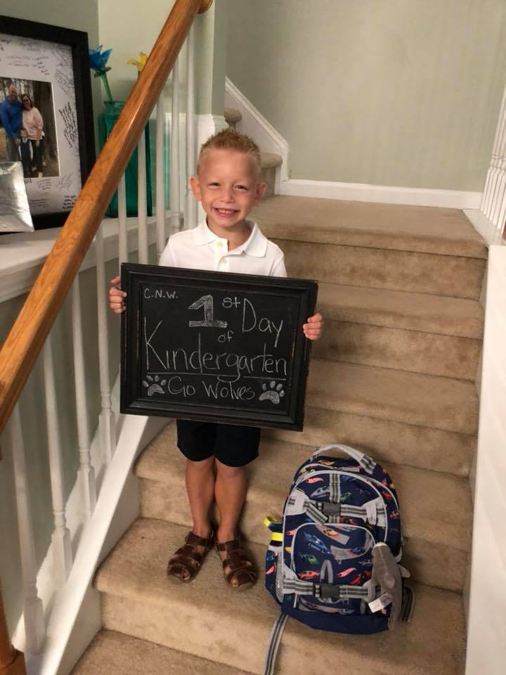 "<div class=""meta image-caption""><div class=""origin-logo origin-image none""><span>none</span></div><span class=""caption-text"">First day of kindergarten last week! (Lindsay Wirthlin)</span></div>"