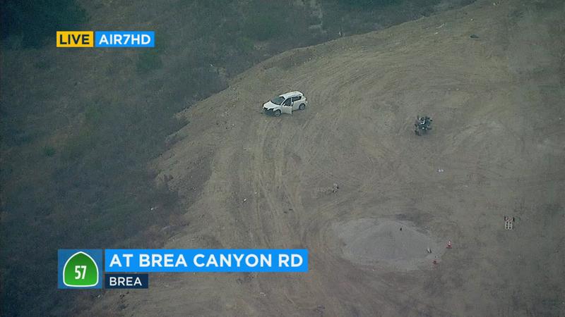 Body found near 57 Freeway in Brea