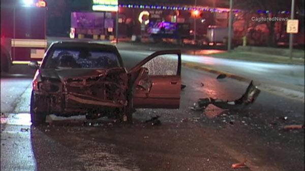 Stone Park Police >> Police Chase Ends In Multi Vehicle Crash In Stone Park