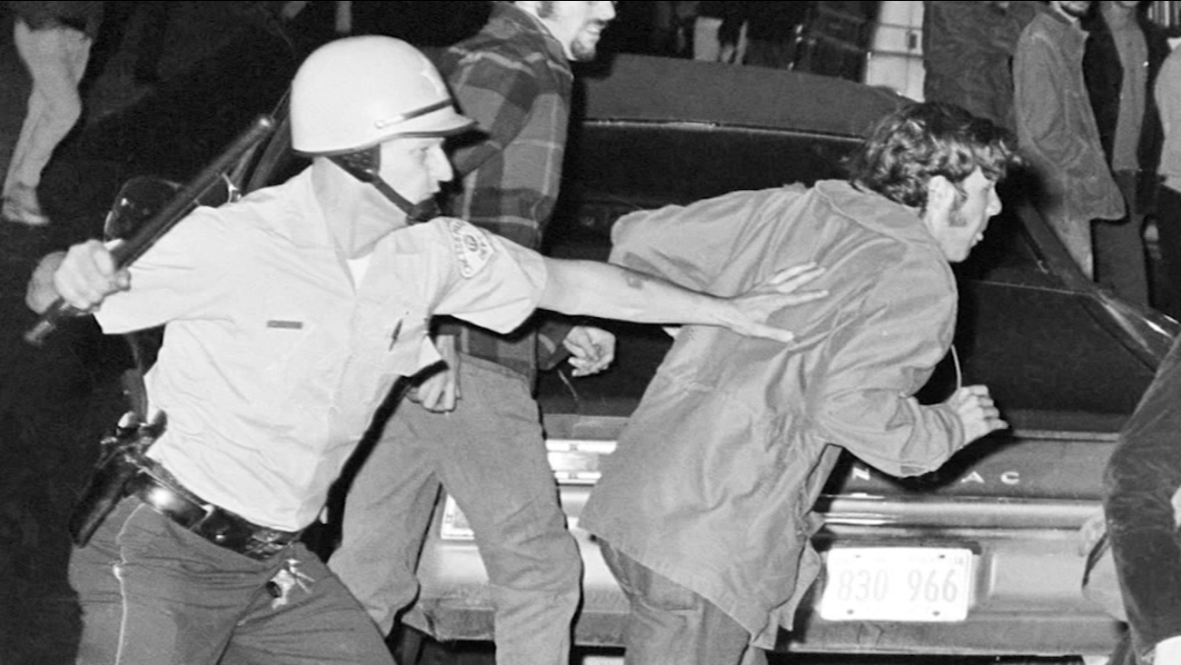 50 Years Later Activists Remember Bloody Protests Outside 1968 Democratic National Convention
